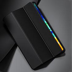 Custodia Portafoglio In Pelle Cover con Supporto L02 per Huawei MatePad Pro 5G 10.8 Nero