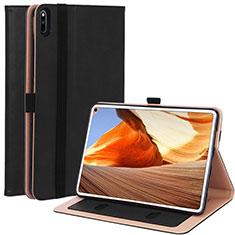Custodia Portafoglio In Pelle Cover con Supporto L02 per Huawei MatePad Pro Nero