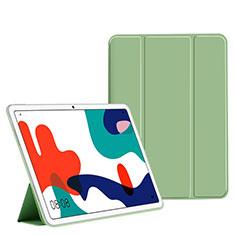 Custodia Portafoglio In Pelle Cover con Supporto L02 per Huawei MatePad Verde