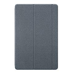 Custodia Portafoglio In Pelle Cover con Supporto L02 per Huawei MediaPad M6 10.8 Grigio