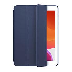 Custodia Portafoglio In Pelle Cover con Supporto L02 per Huawei MediaPad M6 8.4 Blu