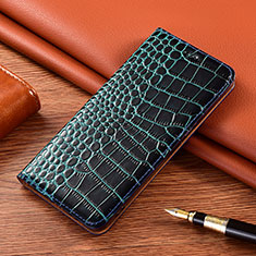 Custodia Portafoglio In Pelle Cover con Supporto L02 per LG K22 Blu