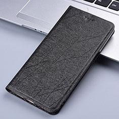 Custodia Portafoglio In Pelle Cover con Supporto L02 per Samsung Galaxy A81 Nero