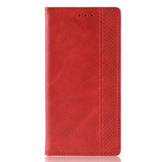 Custodia Portafoglio In Pelle Cover con Supporto L02 per Samsung Galaxy M30s Rosso