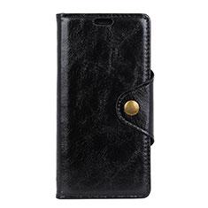 Custodia Portafoglio In Pelle Cover con Supporto L03 per Asus Zenfone 5 Lite ZC600KL Nero