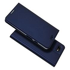 Custodia Portafoglio In Pelle Cover con Supporto L03 per Google Pixel 3 XL Blu
