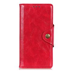 Custodia Portafoglio In Pelle Cover con Supporto L03 per Google Pixel 4 Rosso