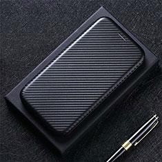 Custodia Portafoglio In Pelle Cover con Supporto L03 per Google Pixel 5 Nero