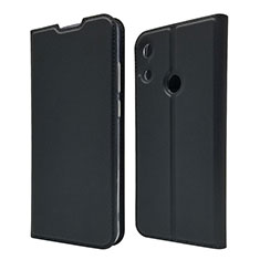 Custodia Portafoglio In Pelle Cover con Supporto L03 per Huawei Honor 8A Nero