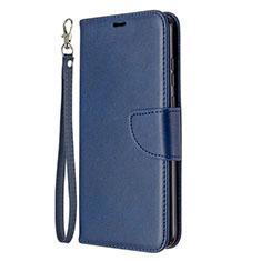 Custodia Portafoglio In Pelle Cover con Supporto L03 per Huawei Honor 9A Blu
