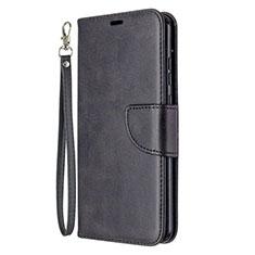 Custodia Portafoglio In Pelle Cover con Supporto L03 per Huawei Honor 9A Nero