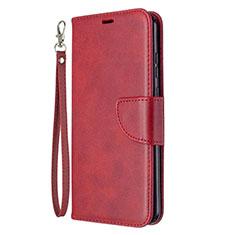 Custodia Portafoglio In Pelle Cover con Supporto L03 per Huawei Honor 9A Rosso