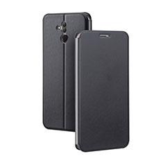 Custodia Portafoglio In Pelle Cover con Supporto L03 per Huawei Mate 20 Lite Nero