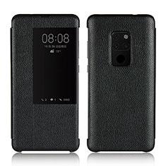 Custodia Portafoglio In Pelle Cover con Supporto L03 per Huawei Mate 20 Nero
