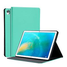 Custodia Portafoglio In Pelle Cover con Supporto L03 per Huawei MatePad 10.8 Verde Pastello