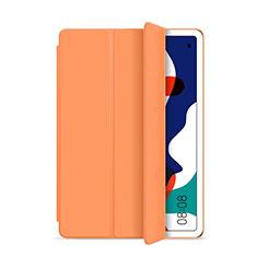 Custodia Portafoglio In Pelle Cover con Supporto L03 per Huawei MatePad 5G 10.4 Arancione