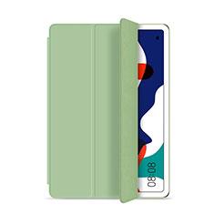 Custodia Portafoglio In Pelle Cover con Supporto L03 per Huawei MatePad 5G 10.4 Ciano