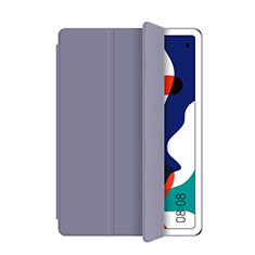 Custodia Portafoglio In Pelle Cover con Supporto L03 per Huawei MatePad 5G 10.4 Grigio