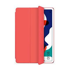 Custodia Portafoglio In Pelle Cover con Supporto L03 per Huawei MatePad 5G 10.4 Rosso