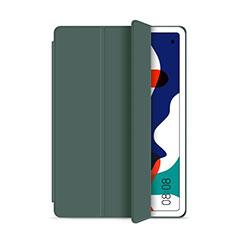 Custodia Portafoglio In Pelle Cover con Supporto L03 per Huawei MatePad 5G 10.4 Verde