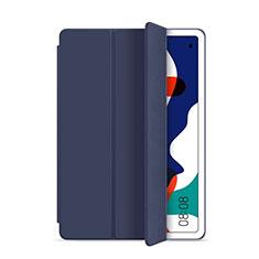 Custodia Portafoglio In Pelle Cover con Supporto L03 per Huawei MatePad Blu