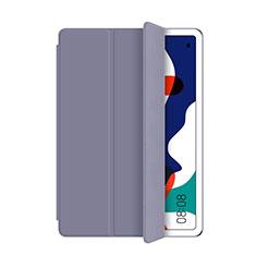 Custodia Portafoglio In Pelle Cover con Supporto L03 per Huawei MatePad Grigio