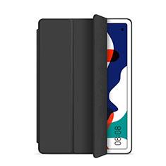 Custodia Portafoglio In Pelle Cover con Supporto L03 per Huawei MatePad Nero