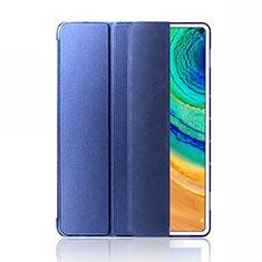 Custodia Portafoglio In Pelle Cover con Supporto L03 per Huawei MatePad Pro 5G 10.8 Blu