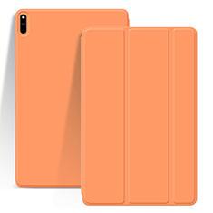 Custodia Portafoglio In Pelle Cover con Supporto L03 per Huawei MatePad Pro Arancione