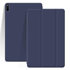 Custodia Portafoglio In Pelle Cover con Supporto L03 per Huawei MatePad Pro Blu