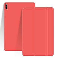 Custodia Portafoglio In Pelle Cover con Supporto L03 per Huawei MatePad Pro Rosso
