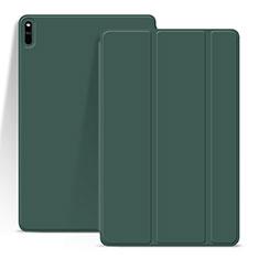 Custodia Portafoglio In Pelle Cover con Supporto L03 per Huawei MatePad Pro Verde