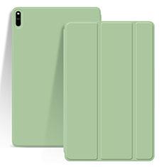Custodia Portafoglio In Pelle Cover con Supporto L03 per Huawei MatePad Pro Verde Pastello