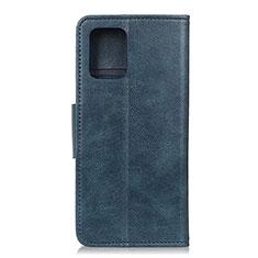 Custodia Portafoglio In Pelle Cover con Supporto L03 per Huawei P40 Blu
