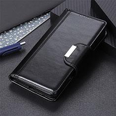 Custodia Portafoglio In Pelle Cover con Supporto L03 per Huawei Y6p Nero