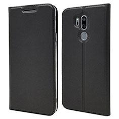 Custodia Portafoglio In Pelle Cover con Supporto L03 per LG G7 Nero