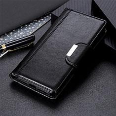 Custodia Portafoglio In Pelle Cover con Supporto L03 per LG Stylo 6 Nero