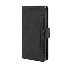 Custodia Portafoglio In Pelle Cover con Supporto L03 per Motorola Moto Edge Plus Nero