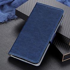 Custodia Portafoglio In Pelle Cover con Supporto L03 per Realme 5 Pro Blu