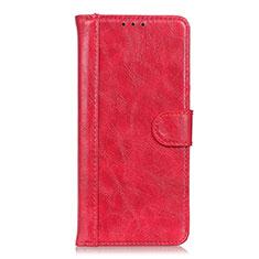 Custodia Portafoglio In Pelle Cover con Supporto L03 per Realme Narzo 20 Pro Rosso