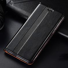 Custodia Portafoglio In Pelle Cover con Supporto L03 per Samsung Galaxy A81 Nero
