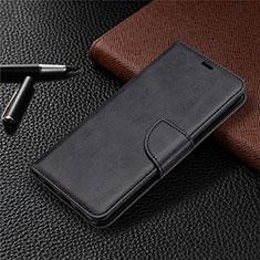 Custodia Portafoglio In Pelle Cover con Supporto L03 per Sony Xperia L4 Nero