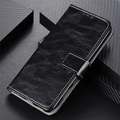 Custodia Portafoglio In Pelle Cover con Supporto L03 per Vivo Y12s Nero