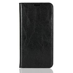Custodia Portafoglio In Pelle Cover con Supporto L03 per Xiaomi Mi 8 Nero