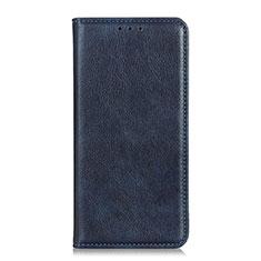 Custodia Portafoglio In Pelle Cover con Supporto L04 per Google Pixel 4 Blu