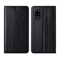 Custodia Portafoglio In Pelle Cover con Supporto L04 per Huawei Honor Play4 Pro 5G Nero