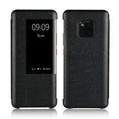 Custodia Portafoglio In Pelle Cover con Supporto L04 per Huawei Mate 20 Pro Nero