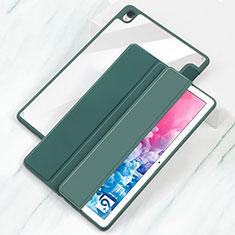 Custodia Portafoglio In Pelle Cover con Supporto L04 per Huawei MatePad 10.8 Ciano