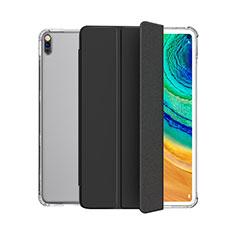 Custodia Portafoglio In Pelle Cover con Supporto L04 per Huawei MatePad 5G 10.4 Nero