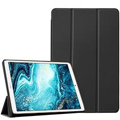 Custodia Portafoglio In Pelle Cover con Supporto L04 per Huawei MediaPad M6 10.8 Nero